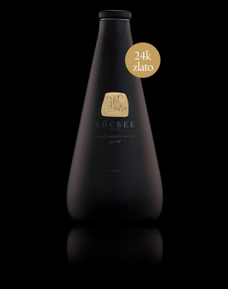 Luxury Black Bottle Oljarna-Kocbek-gold
